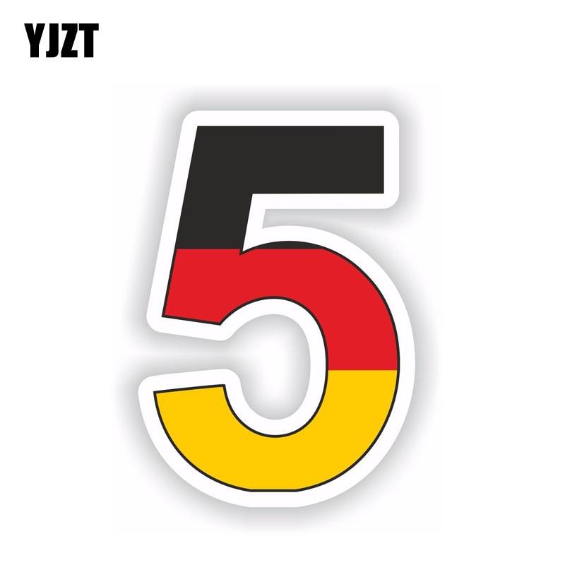 YJZT 8.7CM*12.7CM Helmet Car Sticker Sebastian Vettel -5- Hat Decal Accessories 6-1514