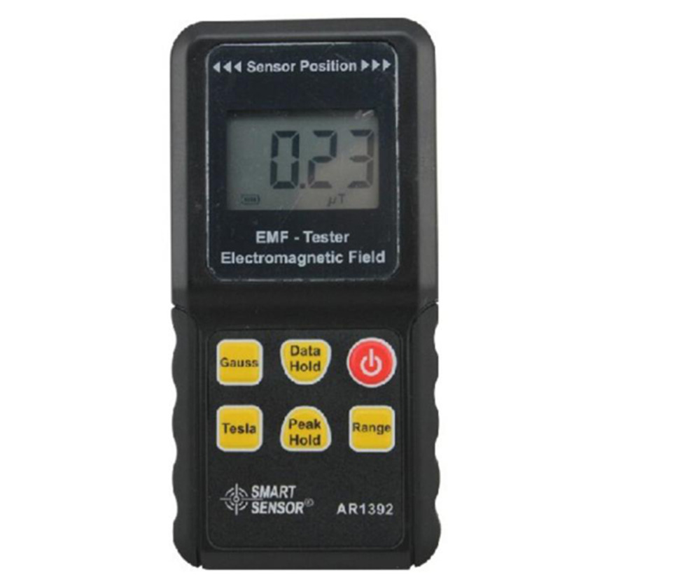 Electromagnetic Field Radiation Meter AR1392 EMF Tester Measuring Range 0~2000 mG 0~200 uT 4 8 days arrival lb92t portable sweetness tester brix meter with measuring range 58 92