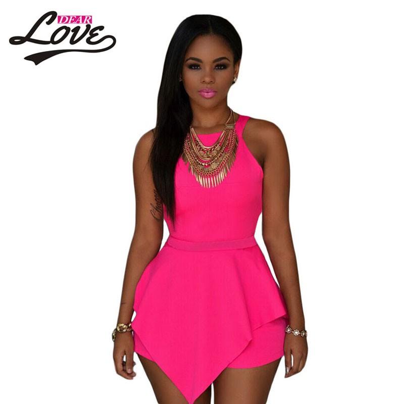 Pink-Sleeveless-Peplum-Romper-LC60547-1-1