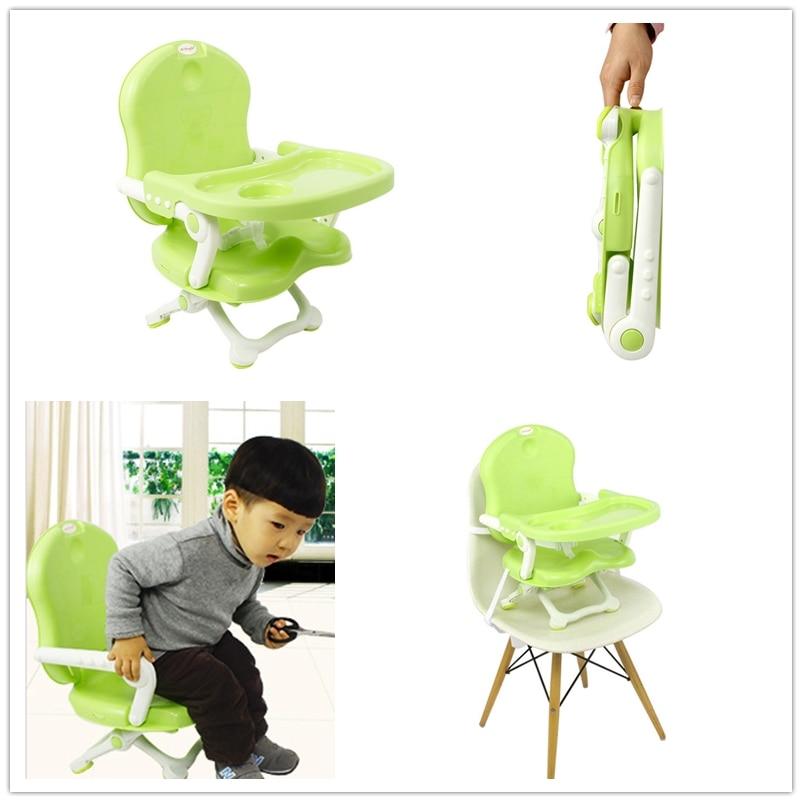 Nouveau Président pour bébés Multi-but chaise Pliante lumière poids facile traverl transporter une chaise pour l'alimentation du nourrisson enfants siège de table