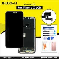 OEM Per il iphone X XR XS max Sostituzione Dello Schermo Con OLED Display Assembly AAA + + + Qualità No Dead Pixel LCD trasporto Libero