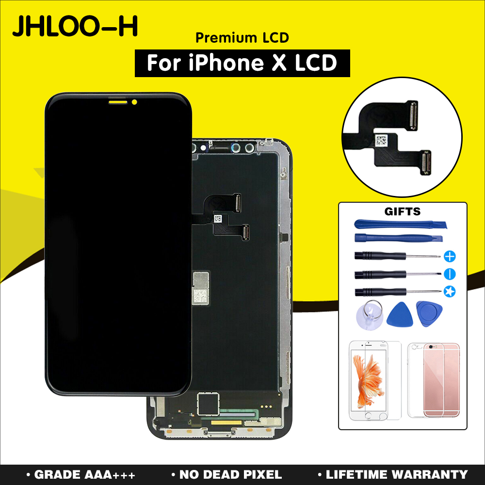OEM For iPhone X XR XS max Screen Replacement With OLED Assembly Display AAA+++ Quality No Dead Pixel LCD Free Shipping-in Mobile Phone LCD Screens from Cellphones & Telecommunications on