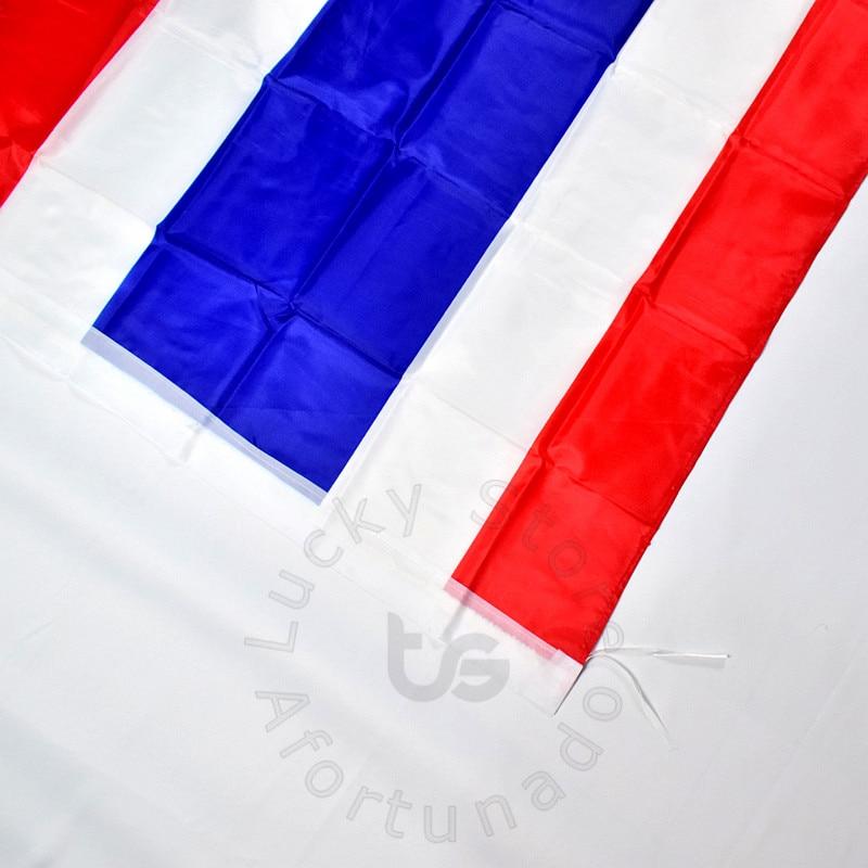 Թաիլանդ 90 * 150 սմ դրոշ Բաններ անվճար - Տնային դեկոր - Լուսանկար 3