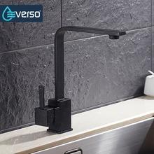 Everso 360 градусов вращающийся кухонный кран латунь холодной и горячей воды кухня смеситель кухонная раковина кран экономить воду аэраторы