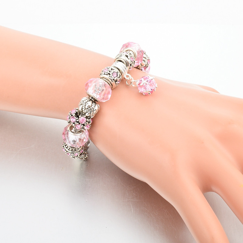 Women's Tibetan Silver Charm Bracelet Bracelets Jewelry Women Jewelry