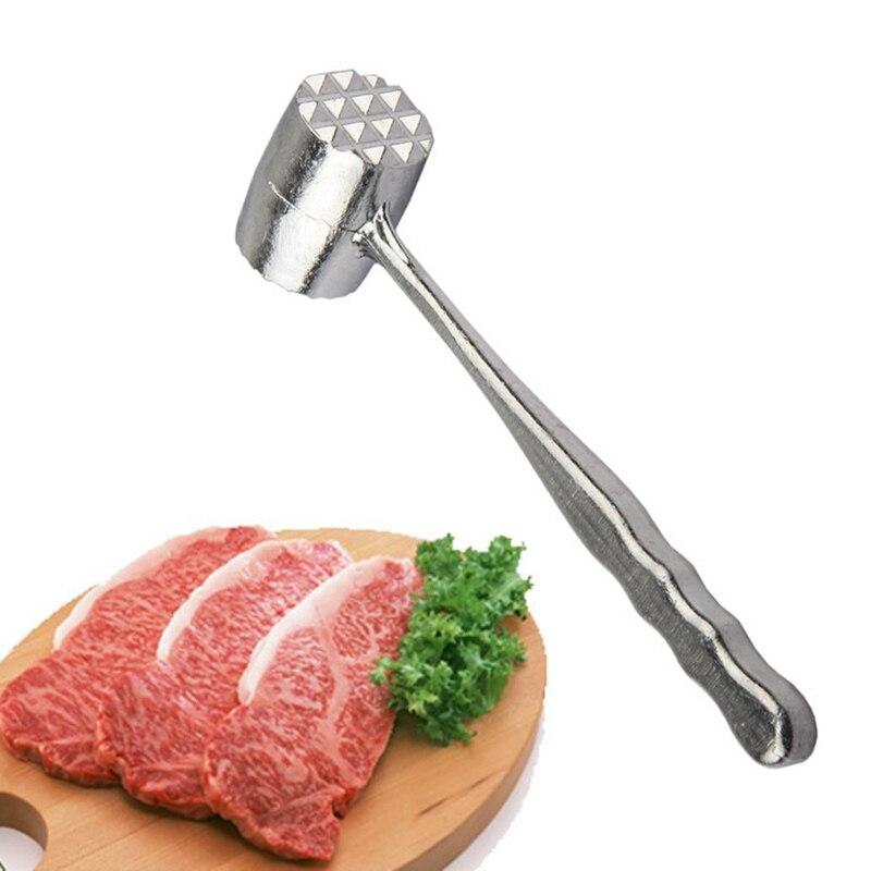 Nuova Mano di Alta Qualità della Carne Hammer Mallet Tenderizer Manzo maiale Pollo Alla Cotoletta Beater Two Sides Strumento Mano Hammer HR