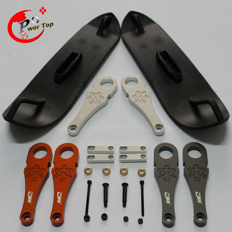 ФОТО King Motor baja Snow ski kits For Hpi Baja 5B Parts Free Shipping