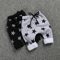 SK075  2015 new arrival Children trousers cotton and  Nununu star print trousers for children Relaxed-fit trousers