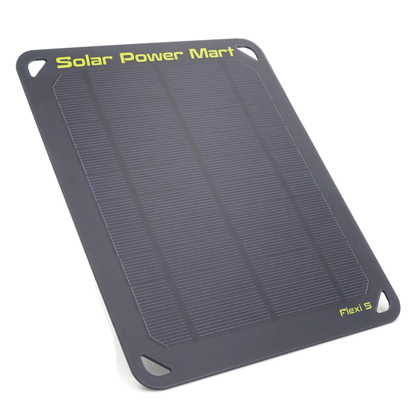 Flexi 5 5V 5W 1000MA Solar Powered Charger for Power Bank Solar Panel USB Output Solar Charger for Mobile Phone цена