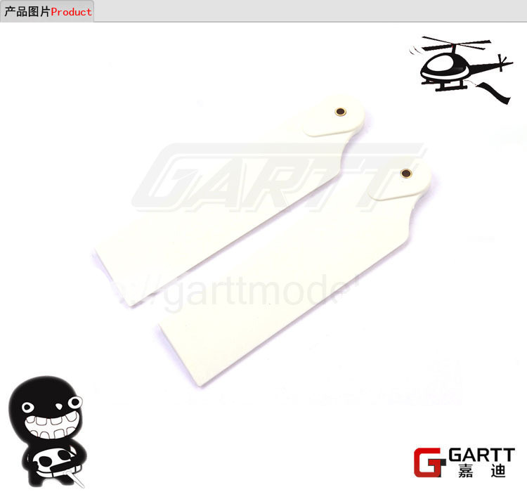 3 Pairs GARTT 700 Tail Blade For Align Trex 700 RC Helicopter