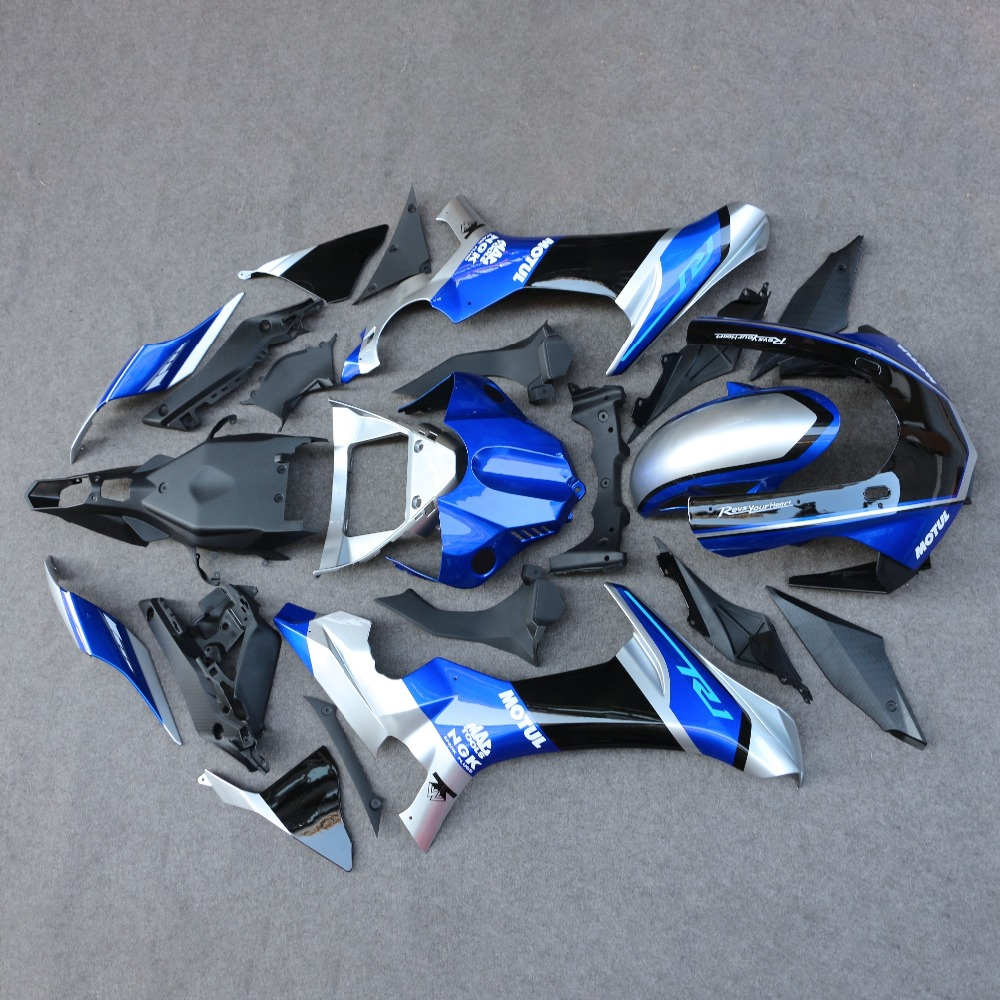 ABS Injection Fairing Bodywork Panel Set Fit For Yamaha YZF R1 2015-2016 YZF-R1 MotorcycleABS Injection Fairing Bodywork Panel Set Fit For Yamaha YZF R1 2015-2016 YZF-R1 Motorcycle