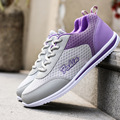 2017 Новый Воздухопроницаемой Сеткой Женская Обувь Сеть Мягкая Женщины Повседневная Обувь