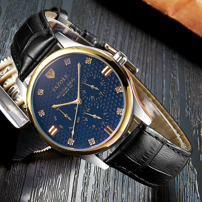 YAZOLE Wristwatch New  Wrist Watch Men Watches Top Brand Luxury Famous Male Clock Quartz Watch for Men Hodinky Relogio Masculino classic simple star women watch men top famous luxury brand quartz watch leather student watches for loves relogio feminino