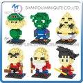 Mini Qute dr. estrella 3d Anime Dragon ball Son Goku chicos diamond bloques de construcción de plástico de dibujos animados figuras modelo juguetes educativos
