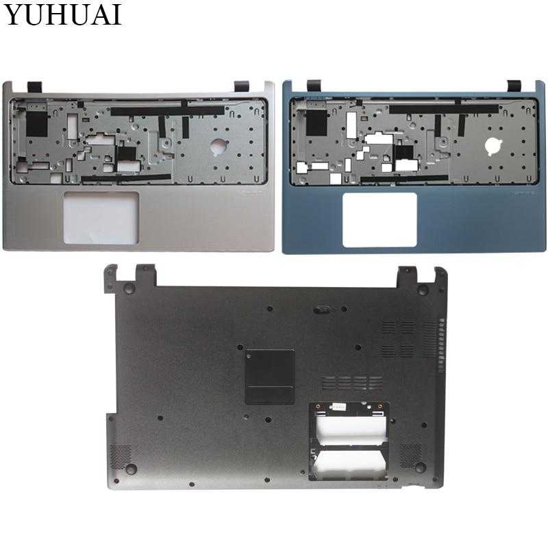 New Laptop Case Cover For Acer Aspire V5-531G V5-531 V5-571 V5-571G Palmrest COVER/Laptop Bottom Base Case Cover