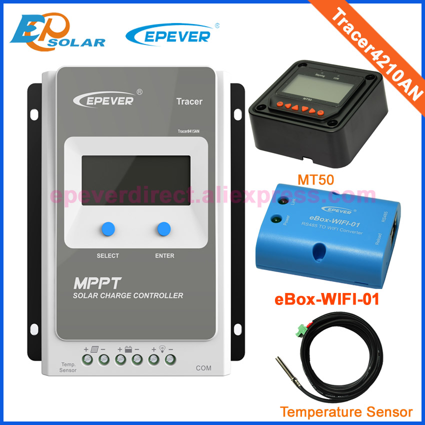 EPEVER Tracer AN 10~40A MPPT Solar Charge Controller w// MT50 or Wireless Adapter