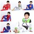 Дети Супергерой Pijamas Дети Мальчики-Паук Пижамы Звездные войны Пижамы Для Мальчиков Пижамы Детские Пижамы Набор Детей Pijamas