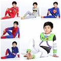 Los niños Superhéroe Star Wars Pijamas Pijamas de Spiderman Niños Pijamas Para Niños ropa de Dormir Pijamas Del Bebé de Los Pijamas