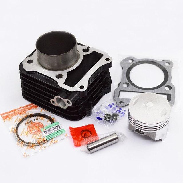 Motorcycle Cylinder Kit 62mm Big Bore For SUZUKI GS125 GN125 EN125 GZ125  DR125 TU125 157FMI K157FMI Modified Upgrade Engine