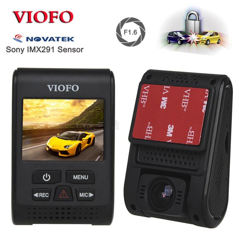 VIOFO A119S V2 2.0 condensateur Novatek HD 1080 p 7G F1.6 Voiture Dash cam Caméra vidéo DVR GPS en option CPL câble câblent