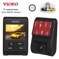 VIOFO A119S V2 2.0 Capacitor Novatek HD 1080p 7G F1.6 Car Dash cam video Camera DVR optional GPS CPL Hardwire cable