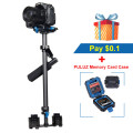 PULUZ  YELANGU S60T steadycam Scalable Carbon Fiber Handheld Camera Stabilizer for Steadicam for Canon / Nikon DSLR Stabilizer