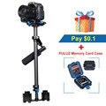 YELANGU PULUZ S60T Масштабируемой Углеродного Волокна Ручной Камеры Стабилизатор для Steadicam steadycam для Canon/Nikon DSLR Стабилизатор