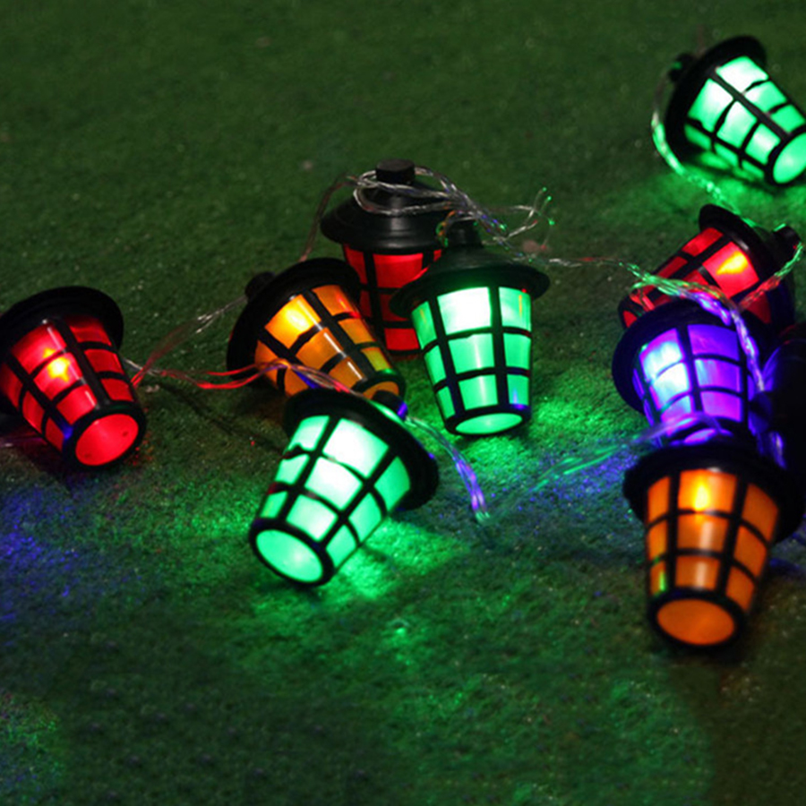 Beautiful Thrisdar 10M 38pcs Lantern Ball Fairy String Light 8 Modes Christmas Globe  Fairy String Garland Outdoor Garden Patio Globe Light