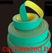 1230 mm x 21 mm x 2.0 mmNylon Chip Base Band Textile Flat Belt Conveyor Transmission Timing Belt цена и фото