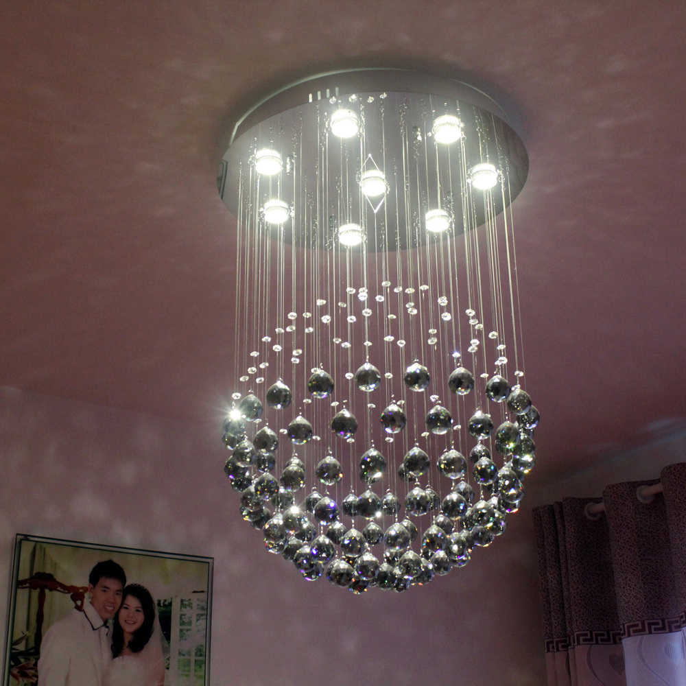 Specials sphere the crystal chandelier meal ceiling lamp bedroom ...