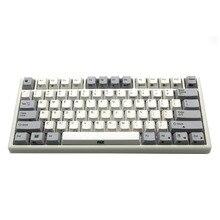 USB клавиатура с емкостной клавиатурой Plum 66 75 84 87 108 Bluetooth 4,0 Dual Mode 35g 45g Realforce