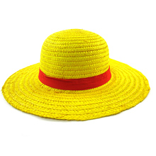 printio straw hat luffy one piece One Piece Cosplay Monkey D Luffy Straw Hat Cartoon Cap
