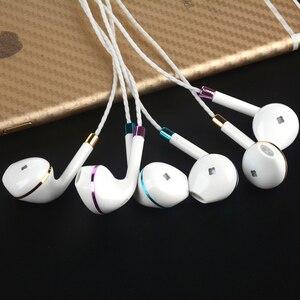 Image 5 - M & J nowy V5 słuchawki douszne do Apple Iphone 5s 6s 5 Bass słuchawki douszne słuchawki stereofoniczne z mikrofonem do telefonu PC Mp3