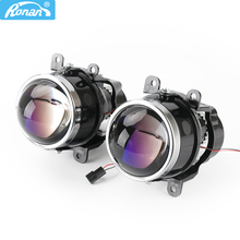 Биксеноновые Противотуманные фары RONAN, 3,0 дюйма, G2 тип, линза проектора D2S D2H H11, лампы для универсального автомобильного стайлинга, модернизация и модернизация