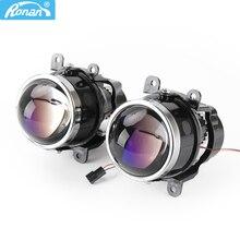 RONAN objectif de projecteur anti brouillard, type bi, 3.0 , D2S D2H H11, lampes universelles pour voiture, rénovation, mise à niveau