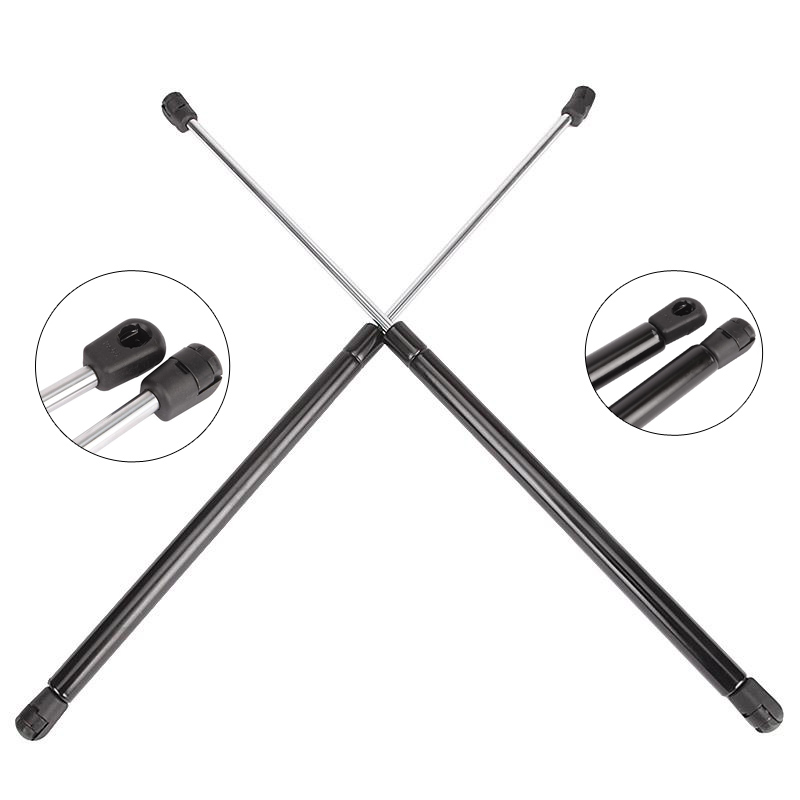 A Pair Steel Car Front Hood Lift Support Struts For Acura