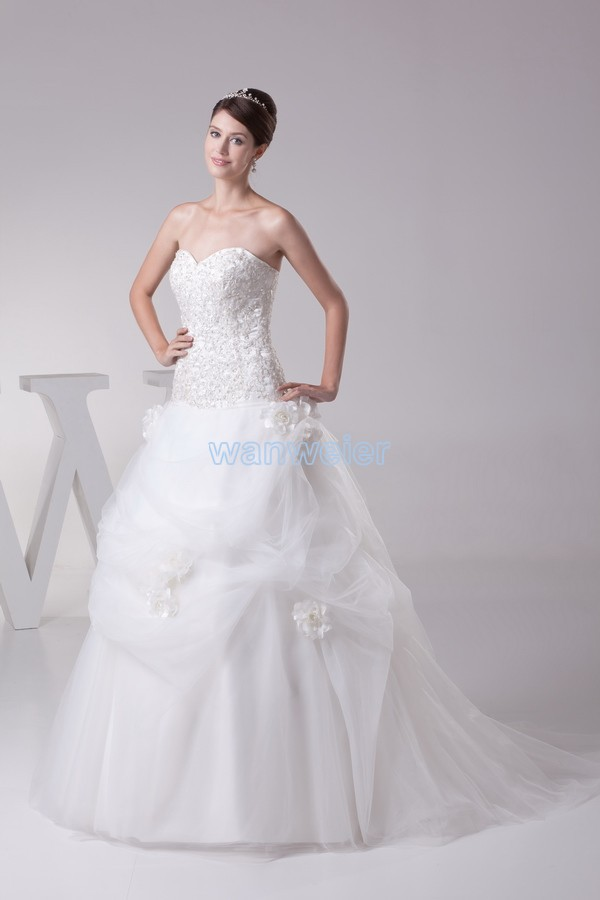free shipping 2016 greek ball gowns new design fashion hot bridal gown long lace up custom size color white ivory wedding dress in Wedding Dresses from Weddings Events