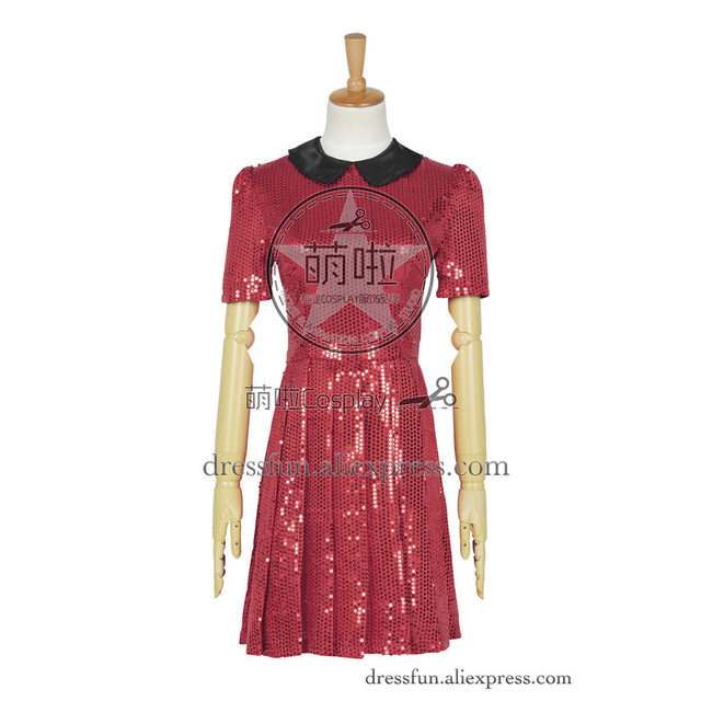 Who Buy The Doctor Cosplay Robot Of Sherwood Clara Oswald Costume Red Short Dress Female Halloween  sc 1 st  AliExpress.com & Who Buy The Doctor Cosplay Robot Of Sherwood Clara Oswald Costume ...