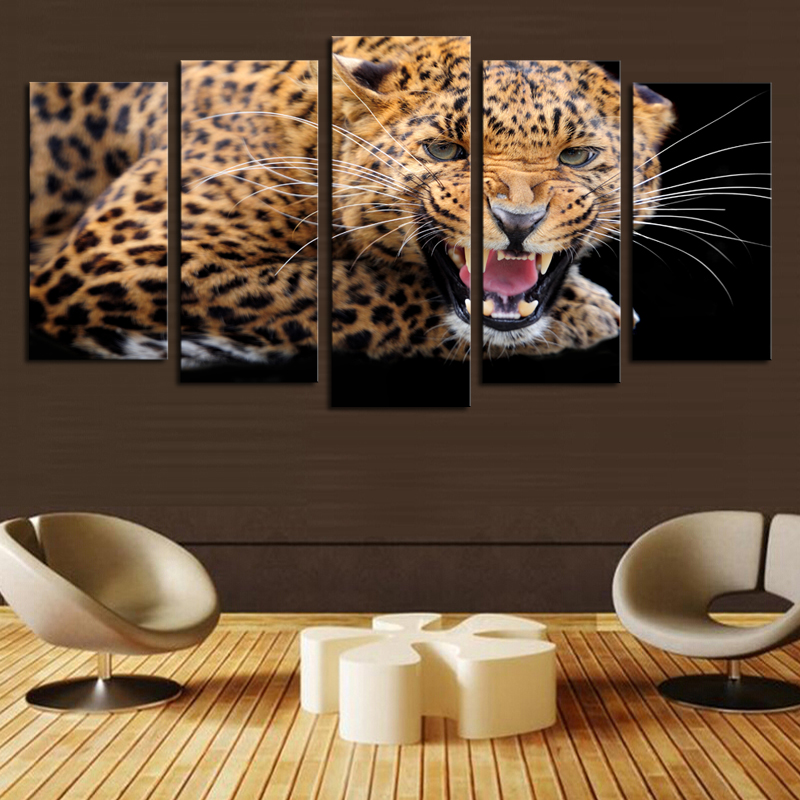 Animal Print Wall Art popular leopard wall art-buy cheap leopard wall art lots from