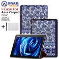Магнит Кожаный Чехол Подставка для Asus Zenpad 10 Z300C Z300CL Z300CG Tablet + Защитные пленки + Стилус