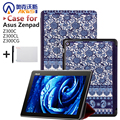 Magnet Leather Cover Stand Case for Asus Zenpad 10 Z300C Z300CL Z300CG Tablet + Screen Protectors + Stylus