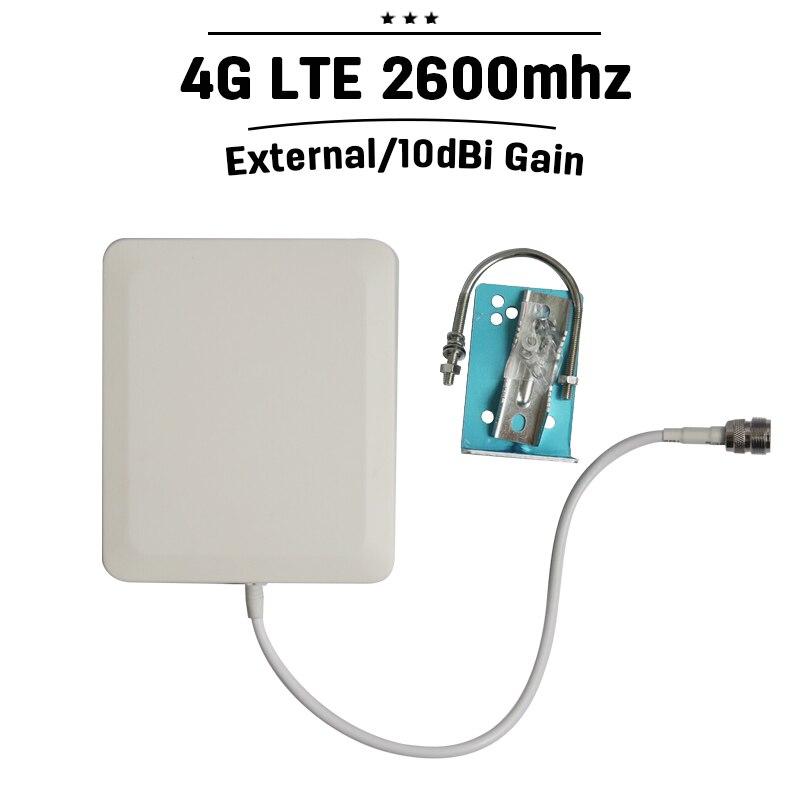 En plein air Panneau Antenne 2300-2700 hz 4G LTE 2600 mhz Signal de Téléphone Mobile Antenne N Type Connecteur 10dBi externe Téléphone Portable Antenne