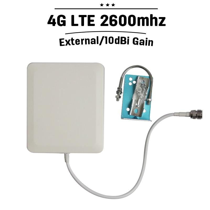 Outdoor Panel Antenna 2300-2700hz 4G LTE 2600mhz Phone Signal Antenna N Type Connector 10dBi External Cellphone Antenna#20