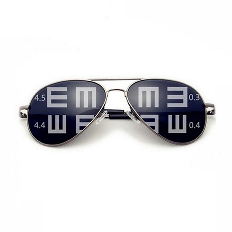 Men Polarized Lense Driving Fishing prescription sunglasses Glasses Large metal Frame Myopia sunglasses Eyewear unisex metal frame polarized sunglasses