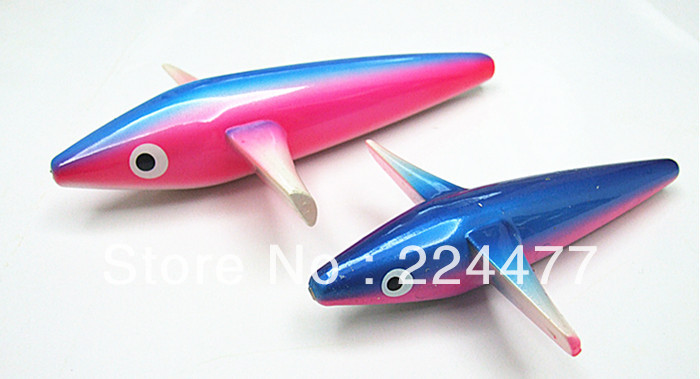 7 pollici135g Mini Plane Bait Fishing Tackle Sea Bird Fishing Lure con girella e linea di guida Body by Plastic