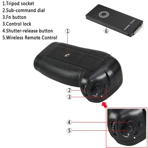 Image 5 - Nikon d850 dslr 카메라 용 dste 원격 제어 수직 배터리 그립 MB D18