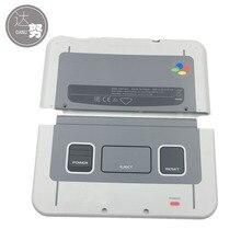 Carcasa para SNES, carcasa limitada, para New 3DS XL LL 2015, placa frontal trasera para Nintendo New3DSXL