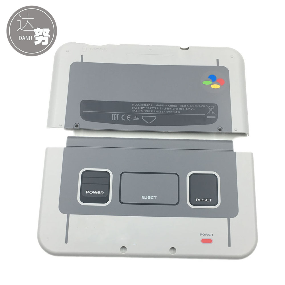 все цены на For SNES Limited Housing Shell Case For New 3DS XL LL 2015 Front Back Faceplate For Nintendo New3DSXL