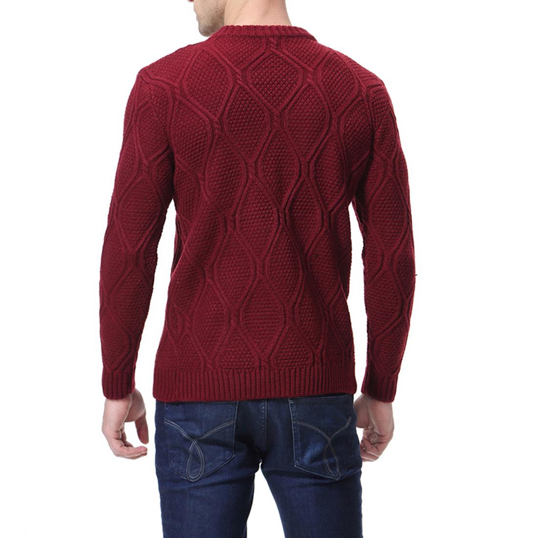 עגול צבע סוודר השפל 14