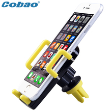 Universal GPS Phone Holder 360 Degree rotation Mounted Car Air Vent for iphone5 6 7s plus Samsung Xiaomi